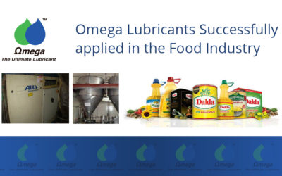 Omega Lubricants Successfully applied in the Food Industry